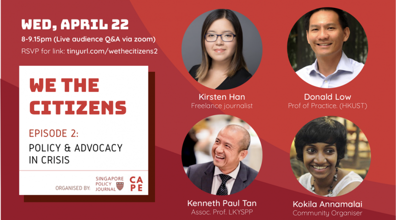 We the Citizens 2: Policy & Advocacy in Crisis